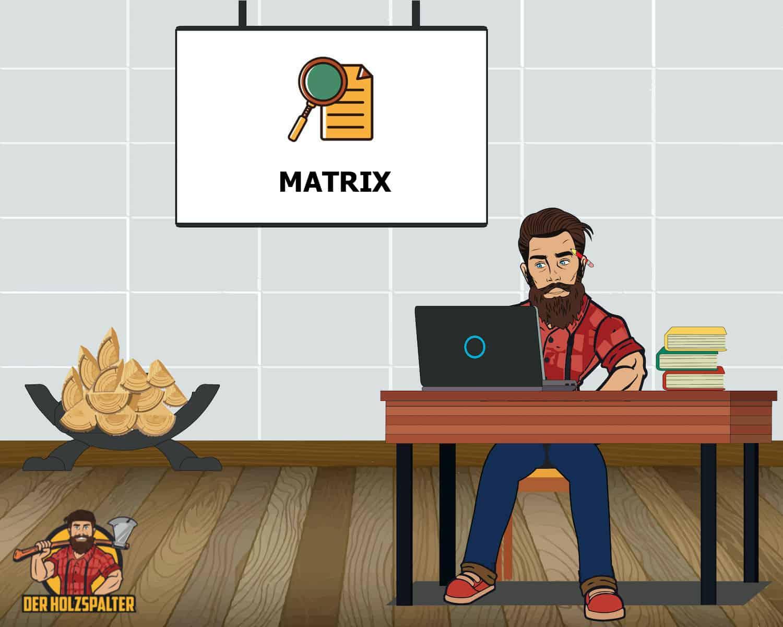 holzspalter hersteller matrix