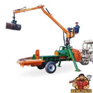 posch splitmaster 40 pzg crane holzspalter